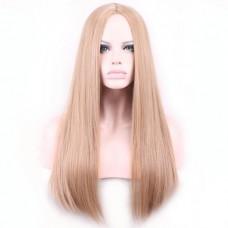 Парик блонд длинный прямой 68 см